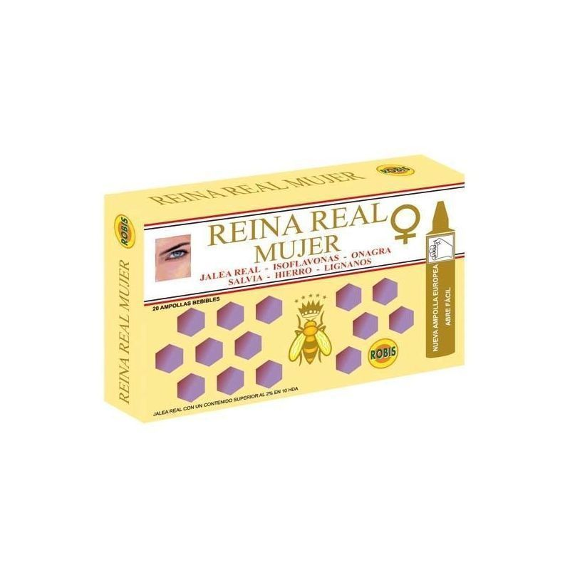 REINA REAL MUJER 20 AMP 10ML