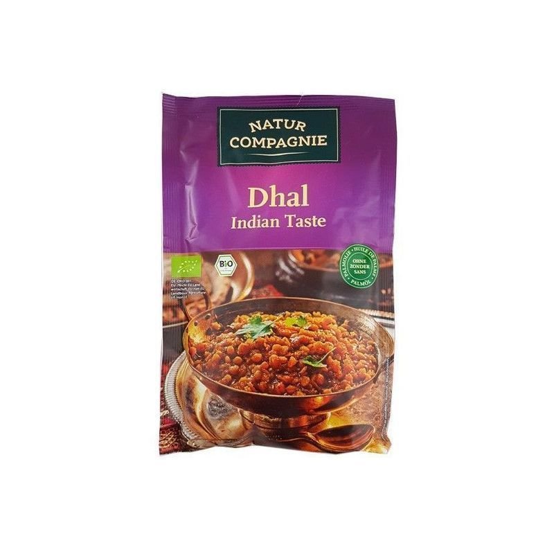 DHAL INDIAN BIO AL CURRY 150GR