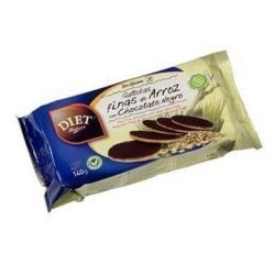 GALLETAS FINAS ARROZ CHOCOLATE  S GLUTEN 140 GR