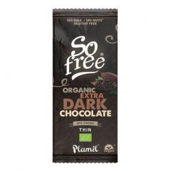 SO FREE CHOCOLATE AL CACAO INTENSO 87% BIO VEGANO 80GR