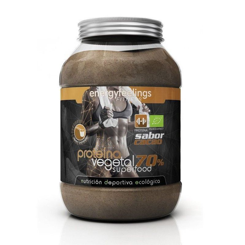 PROTEINA VEGETAL ORGANICA 70% CACAO NDE 1500GR
