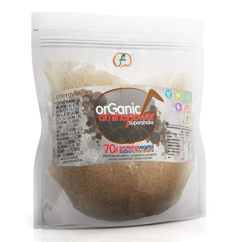 ORGANIC AMINO POWER 70% CHOCOLATE ECO  500GR