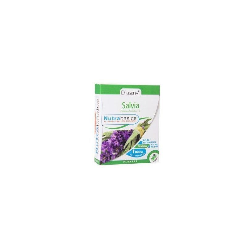 SALVIA 30CAPS NUTRIBASICS DRASANVI